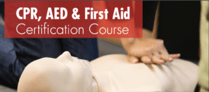 CPR First Aid AED